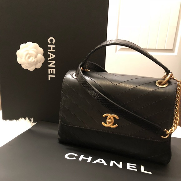 d6886c14d3fce8 CHANEL Bags | Small Flapbag With Handle | Poshmark